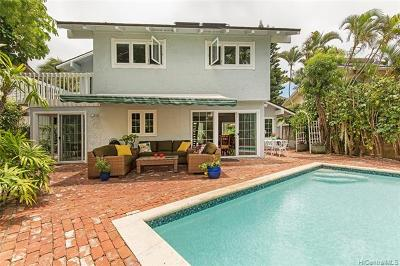 Single Family Home For Sale: 7519 Olowalu Place
