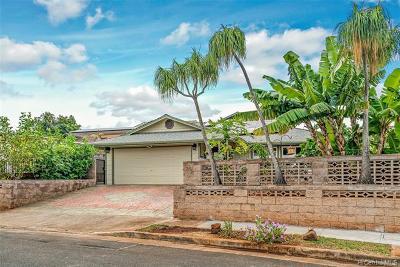 Single Family Home For Sale: 94-370 Keehuhiwa Street