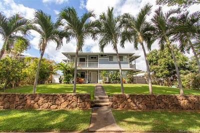 Ewa Beach Single Family Home For Sale: 91-1190 Aawa Drive