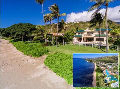 Honolulu HI Single Family Home For Sale: $4,950,000