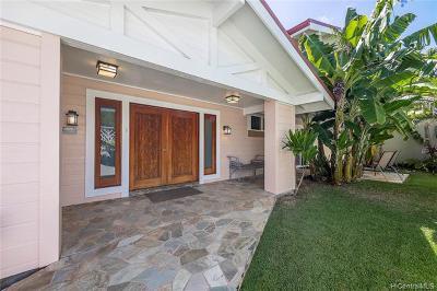 Kaneohe Single Family Home For Sale: 44-283a Kaneohe Bay Drive