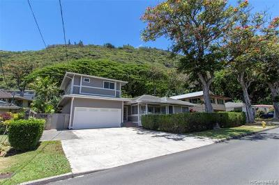 Honolulu HI Single Family Home For Sale: $1,288,000