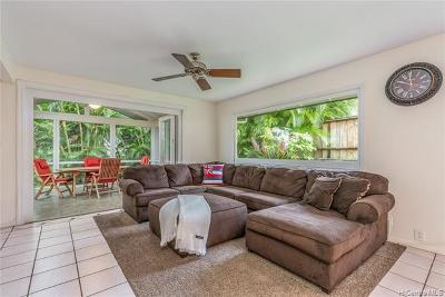 Kaneohe Single Family Home For Sale: 46-288 Nahewai Street