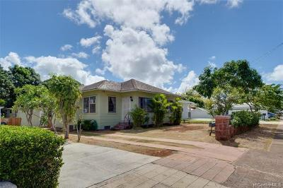 Single Family Home For Sale: 3366 Kaimuki Avenue