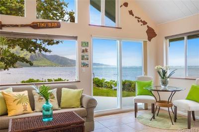 Kaaawa Single Family Home For Sale: 51-529 Kamehameha Highway #2