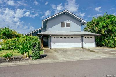 Kaneohe Single Family Home For Sale: 46-305 Ikiiki Street