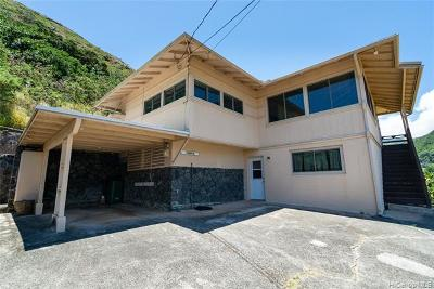 Honolulu Single Family Home For Sale: 2086 Palolo Avenue #A