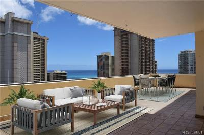 Honolulu Condo/Townhouse For Sale: 1860 Ala Moana Boulevard #PH2004