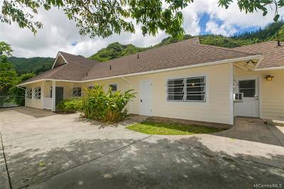 Honolulu Single Family Home For Sale: 3054 Puhala Rise Rise