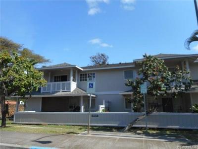 Ewa Beach Rental For Rent: 91-1072g Makaaloa Street #17G