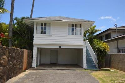Hawaii County, Honolulu County Rental For Rent: 4586 Aukai Avenue #A