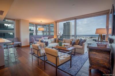 Hawaii County, Honolulu County Rental For Rent: 1555 Kapiolani Boulevard #1208