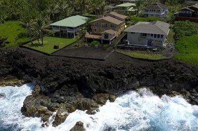 Hawaii County Single Family Home For Sale: 15-2727 Welea Street