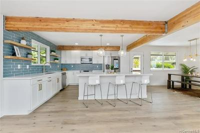 Single Family Home For Sale: 932 Lawelawe Street