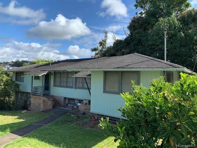 Aiea Multi Family Home For Sale: 99-1156d Halawa Hts Road
