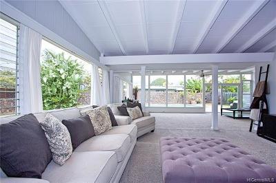 Kailua Single Family Home For Sale: 586 Paopua Loop