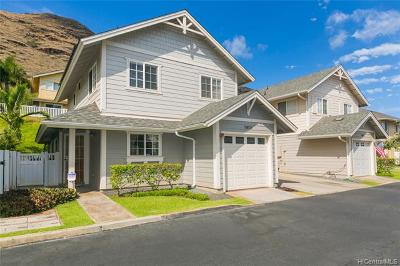Single Family Home For Sale: 87-2107 Pakeke Street #31