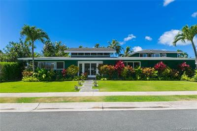 Kailua Single Family Home For Sale: 566 Auwina Street