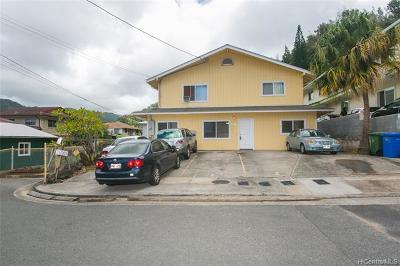 Single Family Home For Sale: 1556 Laumaile Street