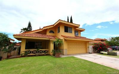 kapolei Single Family Home For Sale: 91-1040 Kanihaalilo Street