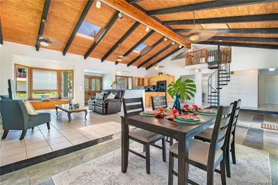 Kailua Single Family Home For Sale: 362 Ilimalia Loop