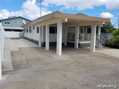 Honolulu County Single Family Home For Sale: 91-797a Makule Road #A