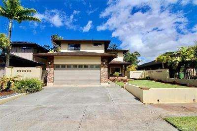 Mililani Single Family Home For Sale: 95-218 Kapanoe Place