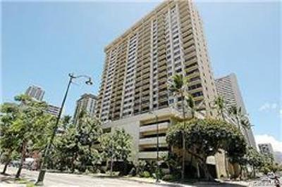 WAIKIKI Condo/Townhouse For Sale: 2140 Kuhio Avenue #605