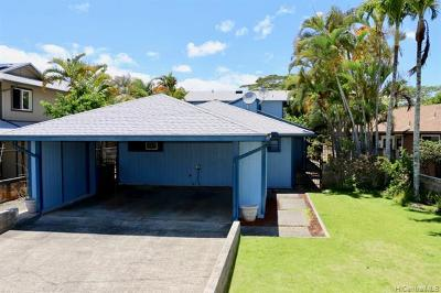 Mililani Single Family Home For Sale: 95-136 Lelewalo Street