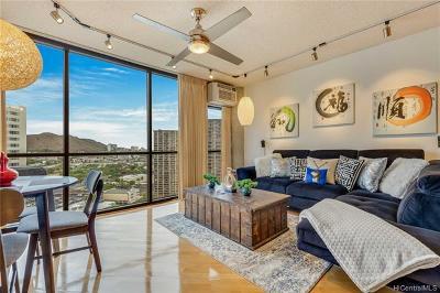Honolulu HI Condo/Townhouse For Sale: $415,000