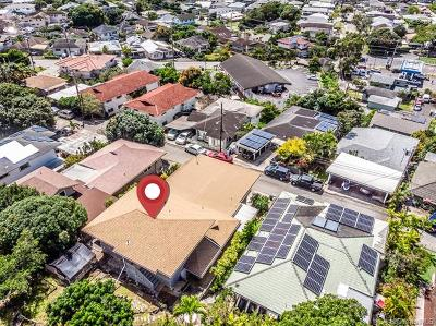 Honolulu Single Family Home For Sale: 2124 Chamberlain Street