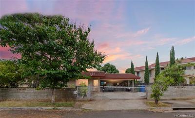 Single Family Home For Sale: 1080 Luapele Drive #AIEA