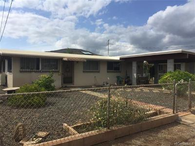 Honolulu County Single Family Home In Escrow Not Showing