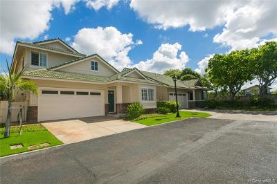Ewa Beach Single Family Home For Sale: 91-227 Lukini Place #18
