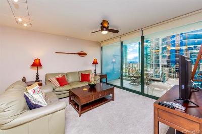Hawaii County, Honolulu County Rental For Rent: 88 Piikoi Street #1402