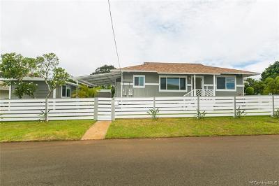 Wahiawa Single Family Home For Sale: 98 Circle Drive