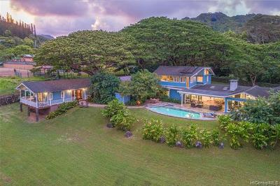 MAUNAWILI Single Family Home For Sale: 990 Auloa Road