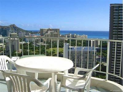 Honolulu Condo/Townhouse For Sale: 469 Ena Road #3206