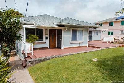 Honolulu Single Family Home For Sale: 1848 Puowaina Drive