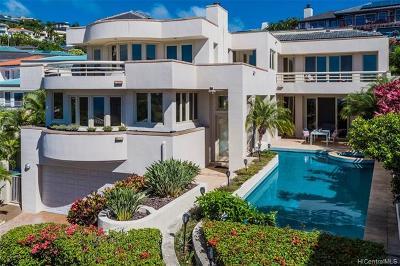 Honolulu Single Family Home For Sale: 636 Kahiau Loop