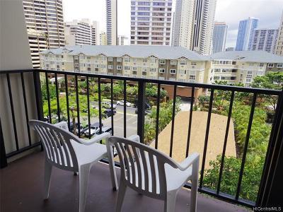 Honolulu Condo/Townhouse For Sale: 1850 Ala Moana Boulevard #227