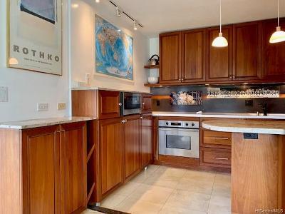 Condo/Townhouse For Sale: 1515 Nuuanu Avenue #551
