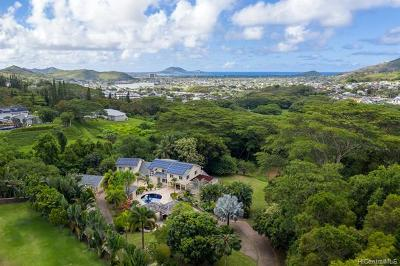 Kailua Single Family Home For Sale: 42-135 Old Kalanianaole Road