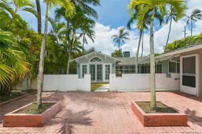 Kailua Single Family Home For Sale: 304 Dune Circle
