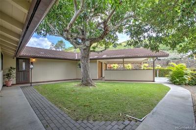 ENCHANTED LAKE Single Family Home For Sale: 947 Kalawai Place