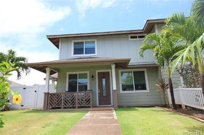 Kapolei Single Family Home For Sale: 421 Koakoa Street