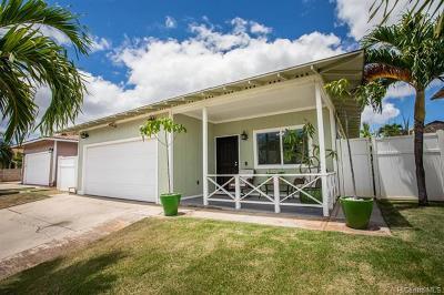 Ewa Beach Single Family Home For Sale: 91-1755 Puhiko Street