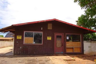 Waianae Single Family Home For Sale: 87-194 Kahau Street