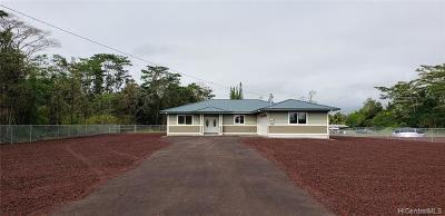 Keaau Single Family Home For Sale: 15-1648 30th Avenue