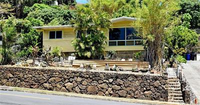 Honolulu Single Family Home For Sale: 1497 Mahiole Street